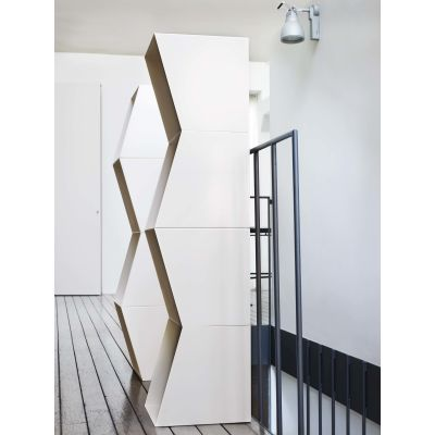Bookcase TOTEM Set of 2 modular
