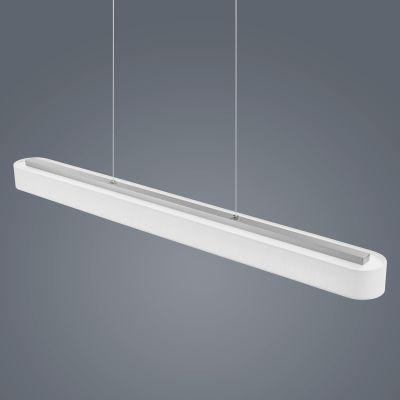 Bora Long Pendant Light White