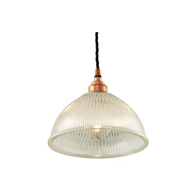 Boston Pendant Light Polished Copper