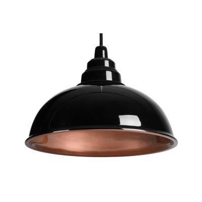 Botega Pendant Lamp Black and Copper