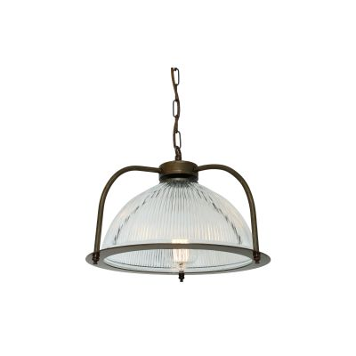 Bousta Pendant Light Antique Brass, Without