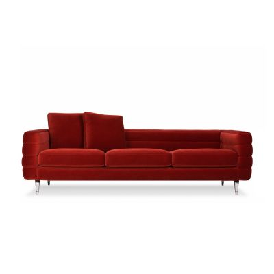Boutique 3 Seater Sofa - Botero Toes Chrome