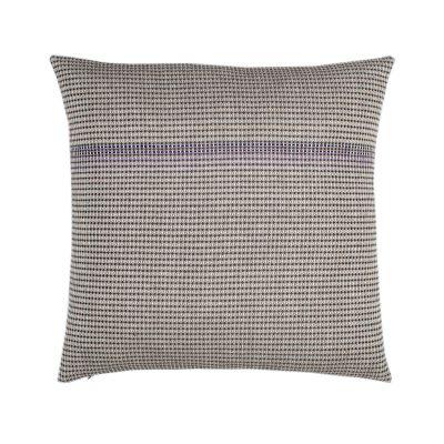 BOUTIQUE PURPLE SQUARE organic cotton hand embroidered purple square