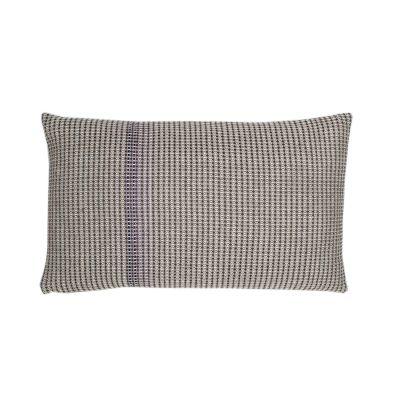 BOUTIQUE PURPLE RECTANGLE organic cotton hand embroidered purple rectangle