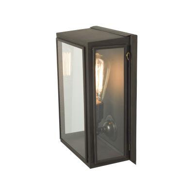 Box Wall Light  (Externally Glazed) Medium, Frosted Glass