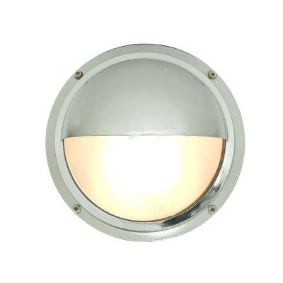 Brass Bulkhead with Eyelid Shield 7225 Chrome Plated, G24d