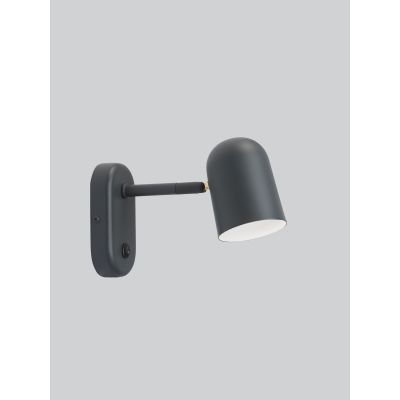 Buddy Wall Lamp Dark Grey