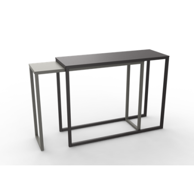 Burga Lower Solo Console Table White - 01 RAL 9016