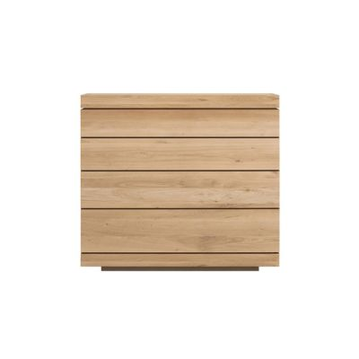 Burger low chest of drawers Oak
