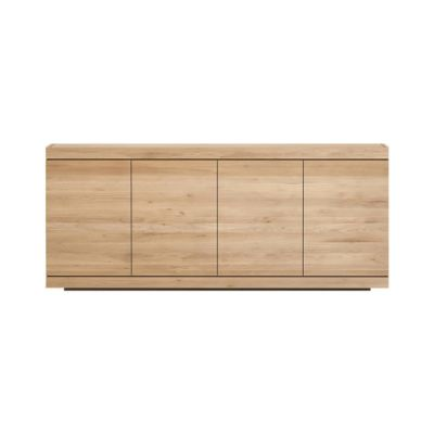 Burger sideboard - 4 doors Oak