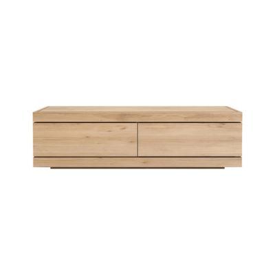 Burger TV cupboard - 140 cm Oak