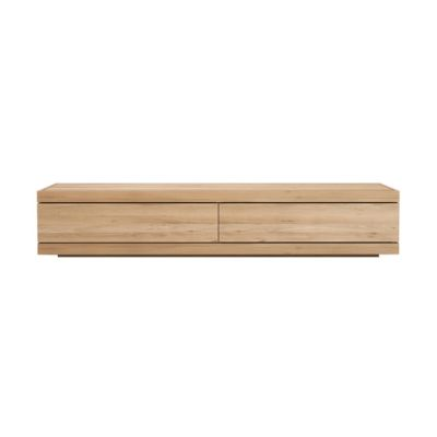 Burger TV cupboard - 210 cm Oak