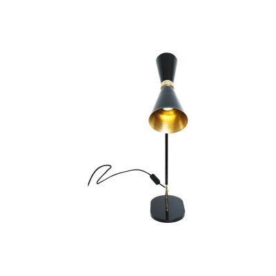 Cairo Table Lamp Powder Coated White,  UL Plug