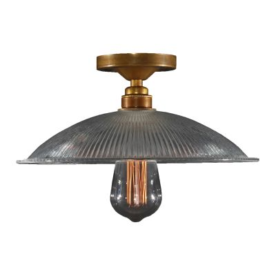 Calix Ceiling Light Satin Brass