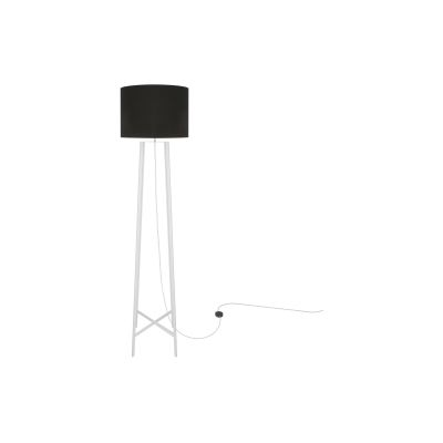 Callan Floor Lamp Powder Coated White, UL Plug