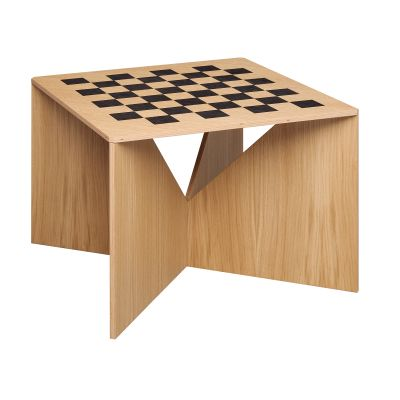 Calvert Chess Coffee Table Natural