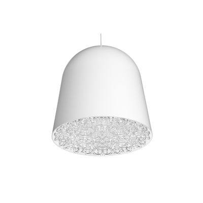 Can Can Pendant Light White, Transparent