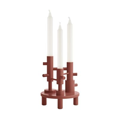 Candleholder Large - set of 2 Terracotta