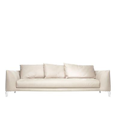 Canvas Sofa Macchedil Grezzo Black indigo, 260 cm