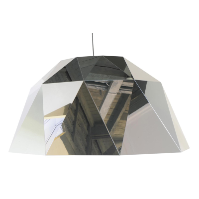 Carat Pendant Light Silver
