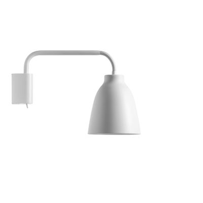 Caravaggio Read Wall Light White