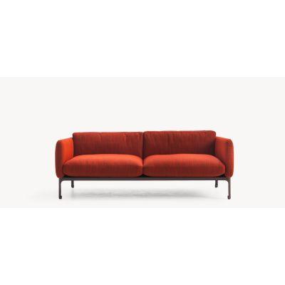 Casa Modernista 1 - 3 Seater Sofa Lila - 0111, Cacao, 76 x 240 x 103