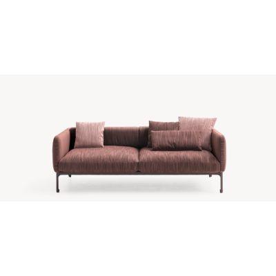 Casa Modernista 2 - 3 Seater Sofa Lila - 0111, Cacao, 68 x 240 x 103