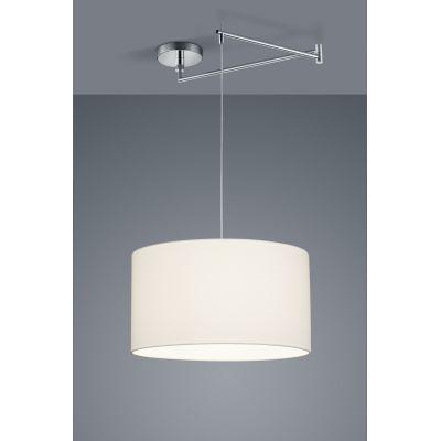 Certo One-Light Cylinder Pendant Light White