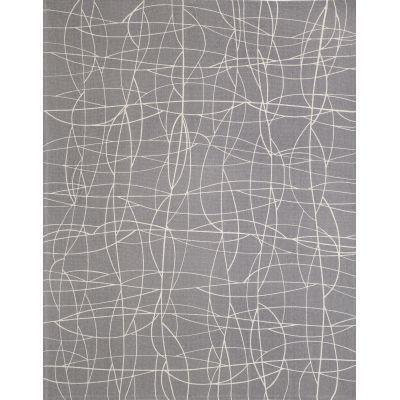 Cha Cha Screen Printed Rug Grey, Large