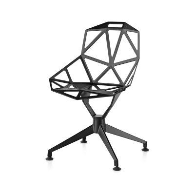 Chair One - 4 Star Aluminium, Non-swivel Base