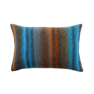 Chalet Cushion Copper and Turquois