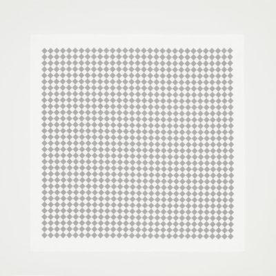 Checker Tablecloth Grey