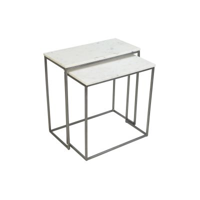 Chelsea Nest of Two Rectangle Side Tables
