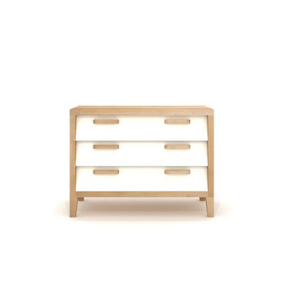 Oak Marius Chest 60'S - 3 Drawers Cream