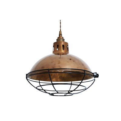Chester Pendant Light Polished Brass