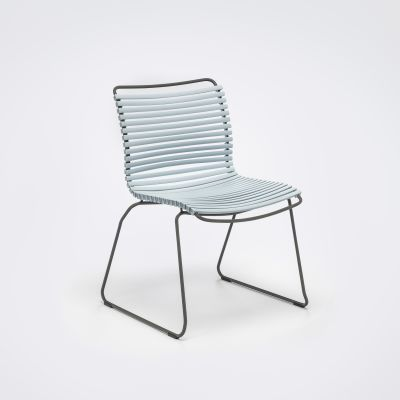Click Dining Chair Without Armrests Dusty Light Blue