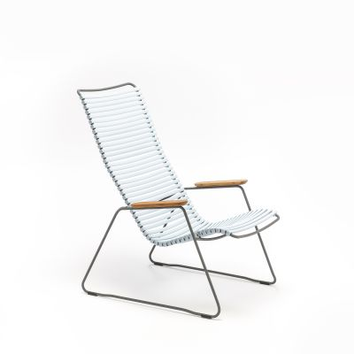 Click Lounge Chair Dusty Light Blue
