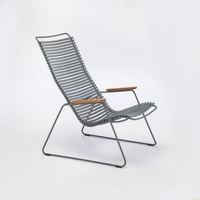 Click Lounge Chair Dark Grey