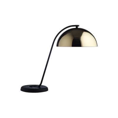Cloche Table Lamp Polished Brass