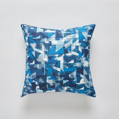 Cobalt Coast cushion 50x50cm