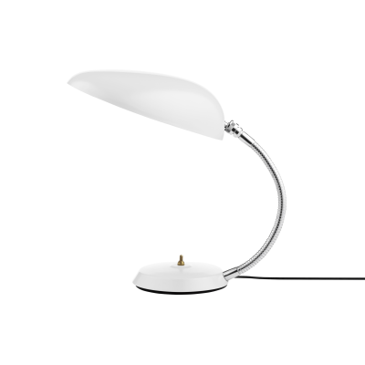 Cobra Table Lamp Gubi Metal Matt White