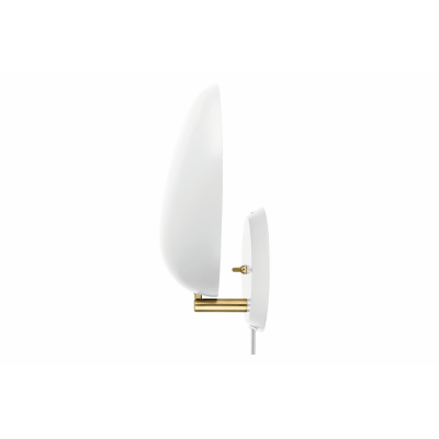 Cobra Wired Wall Light Matt White
