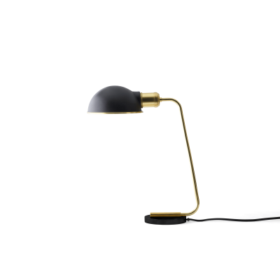 Collister Table Lamp Mirror Polished Brass