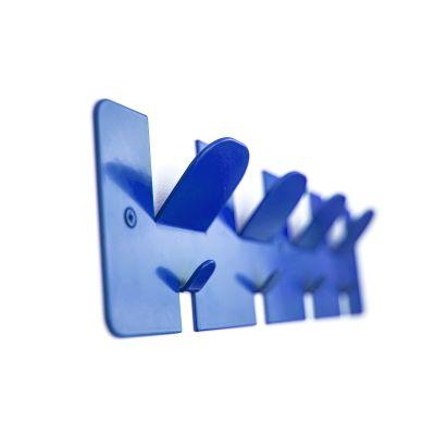 Comb Coat Rack Blue