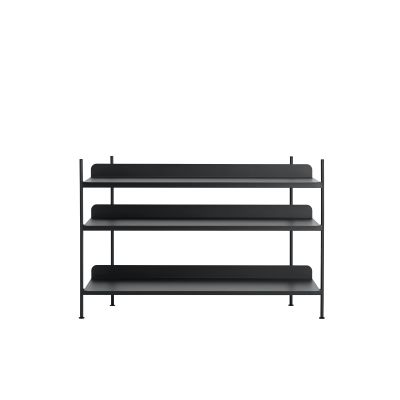 Compile Shelving System Configuration 2, Black
