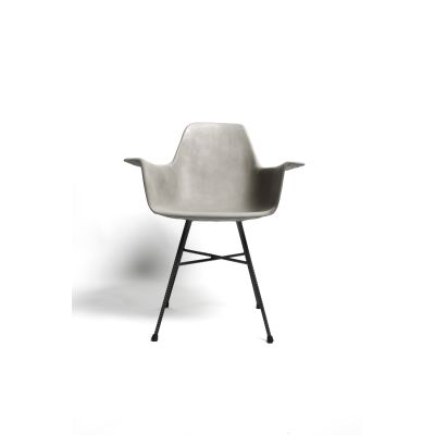 Concrete Hauteville Armchair High