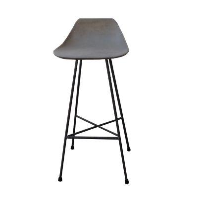 Concrete Hauteville Bar chair
