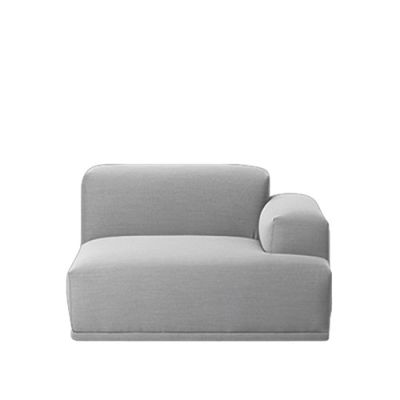 Connect Modular Sofa - Right Armrest Divina Melange 2 120
