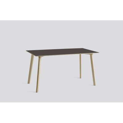 Copenhague Deux (CPH210) Rectangular Dining Table Pearl White Laminate Top, Pearl White Beech Base, 200cm