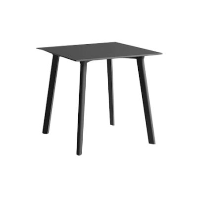Copenhague Deux (CPH210) Square Dining Table Stone Grey Laminate Top, Stone Grey Beech Base